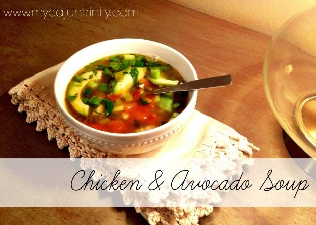 chickenavacado soup