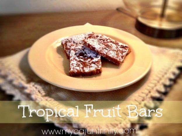 Tropical Fruit Bars